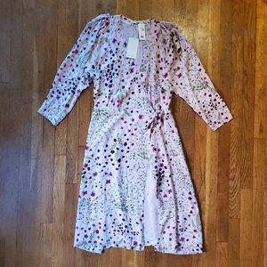 Joie Acantha B Wrap Dress - L - NWT